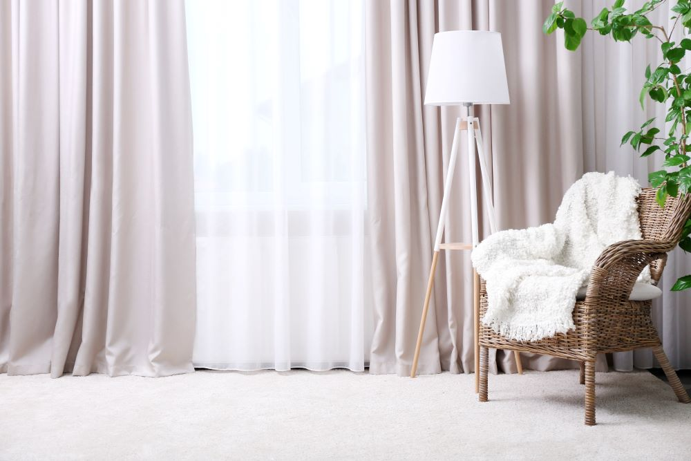 Summer Home Improvement Projects - Update Your Window Curtains