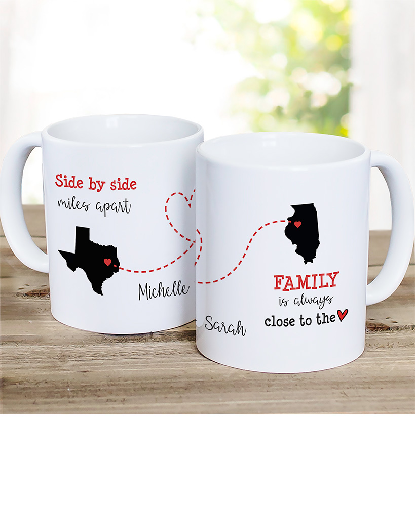 Personalized Close to the Heart Coffee Mug