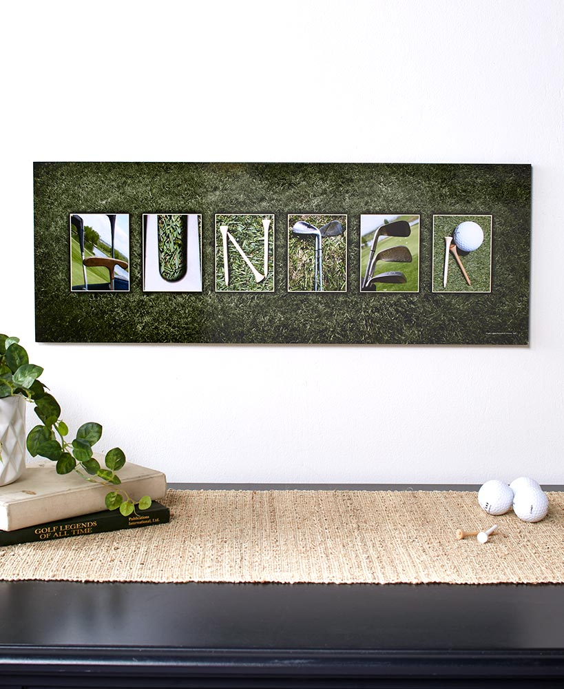 Personalized Themed Name Art