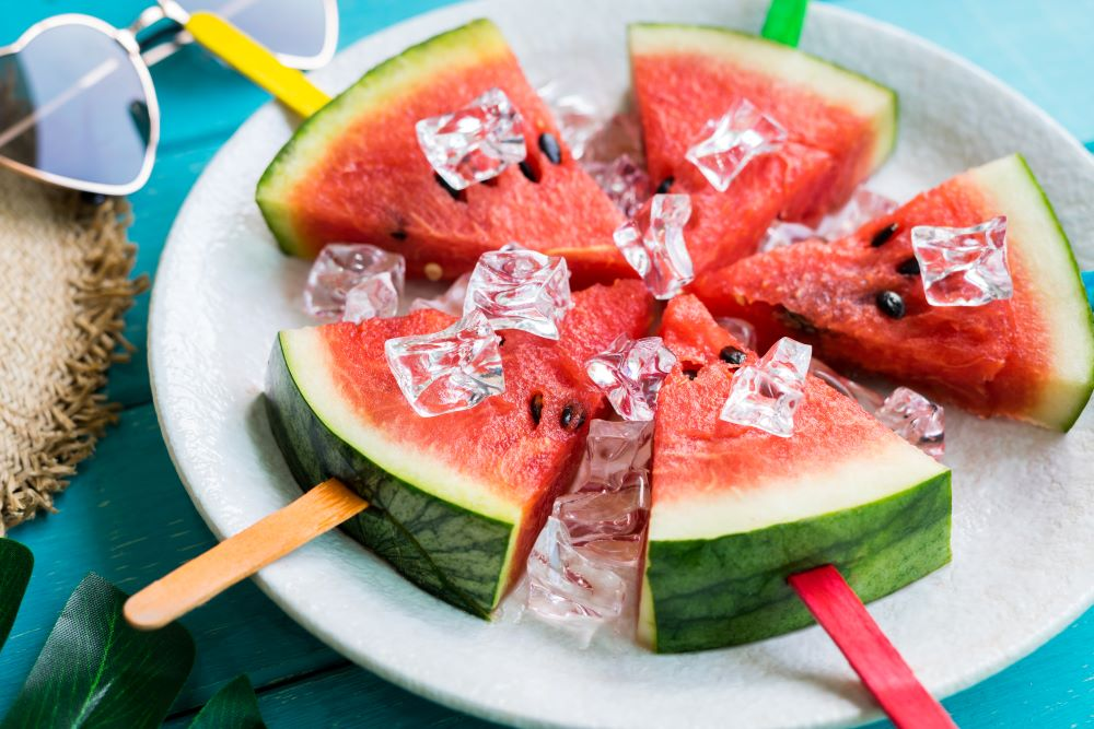Drink Recipes For 4th of July - Tequila Watermelon Popsicles