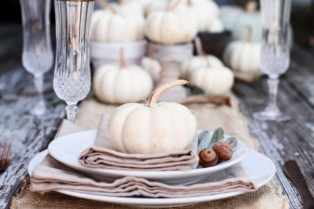 Transition Your Home Decor From Summer To Fall - Create A Fall Dining Table Setting