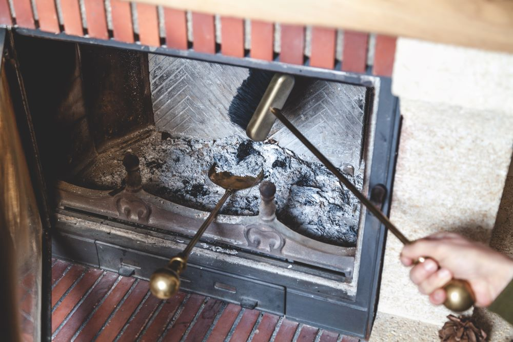 Fall Home Improvement Projects - Cleaning The Fireplace