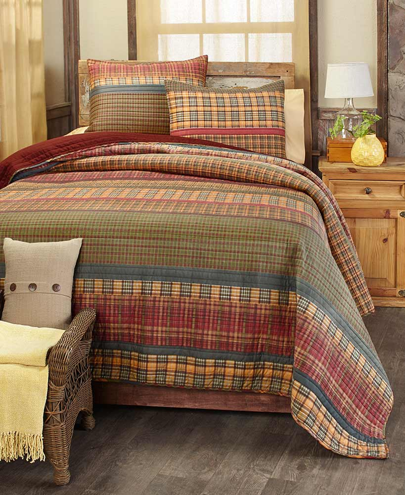 Gold Rush Quilts or Shams