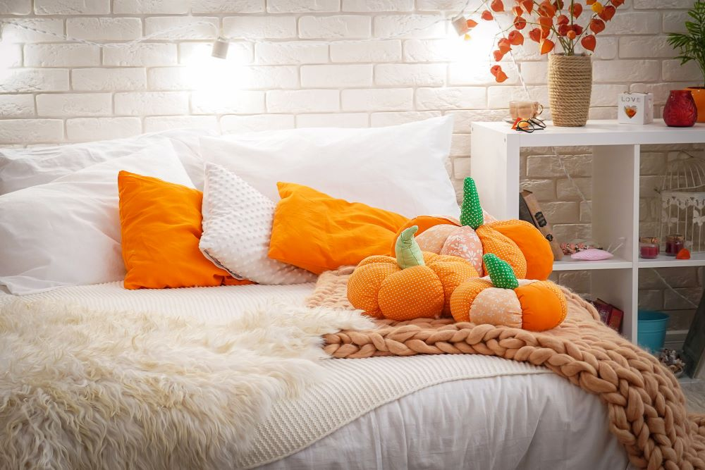 Transition Your Home Decor From Summer To Fall - Fall Bedding