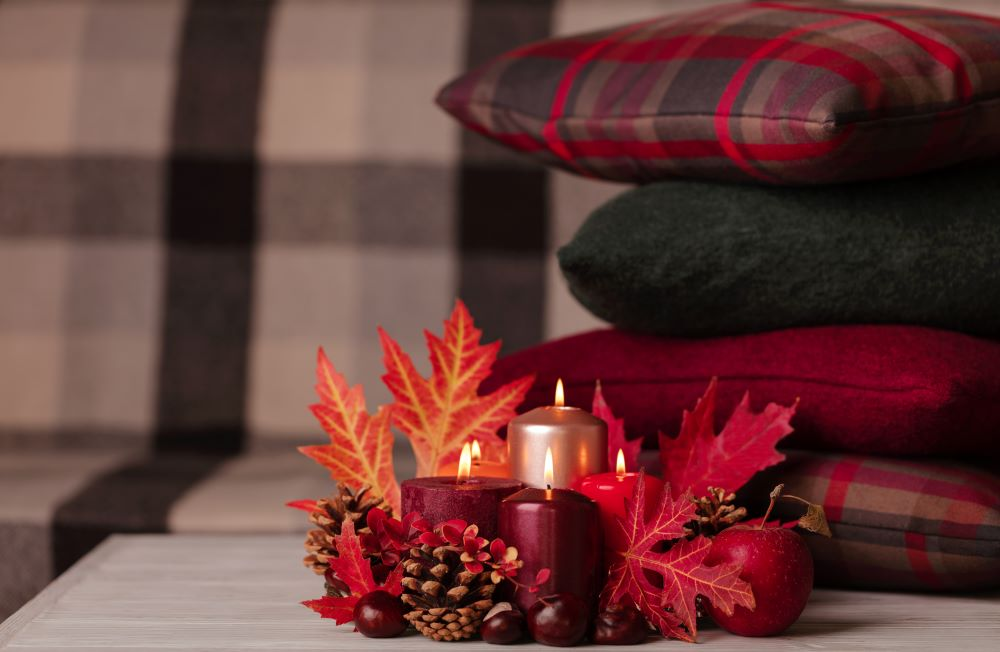 Decorate With Fall Candles And Scents