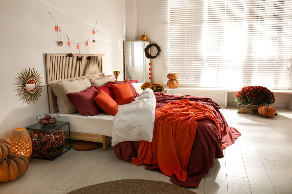Ways To Make Your Home Cozy For fall - Warm Color Scheme