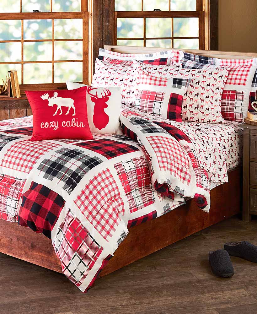 Buffalo Plaid Sheet Set or Comforter Set