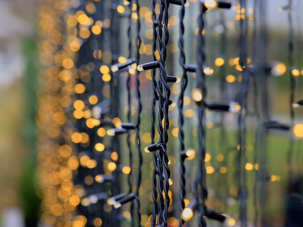 Ways To Make Your Home Cozy For fall - Hang Up String Lights