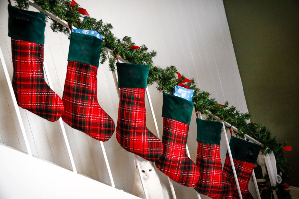 Buffalo Plaid Christmas Stockings