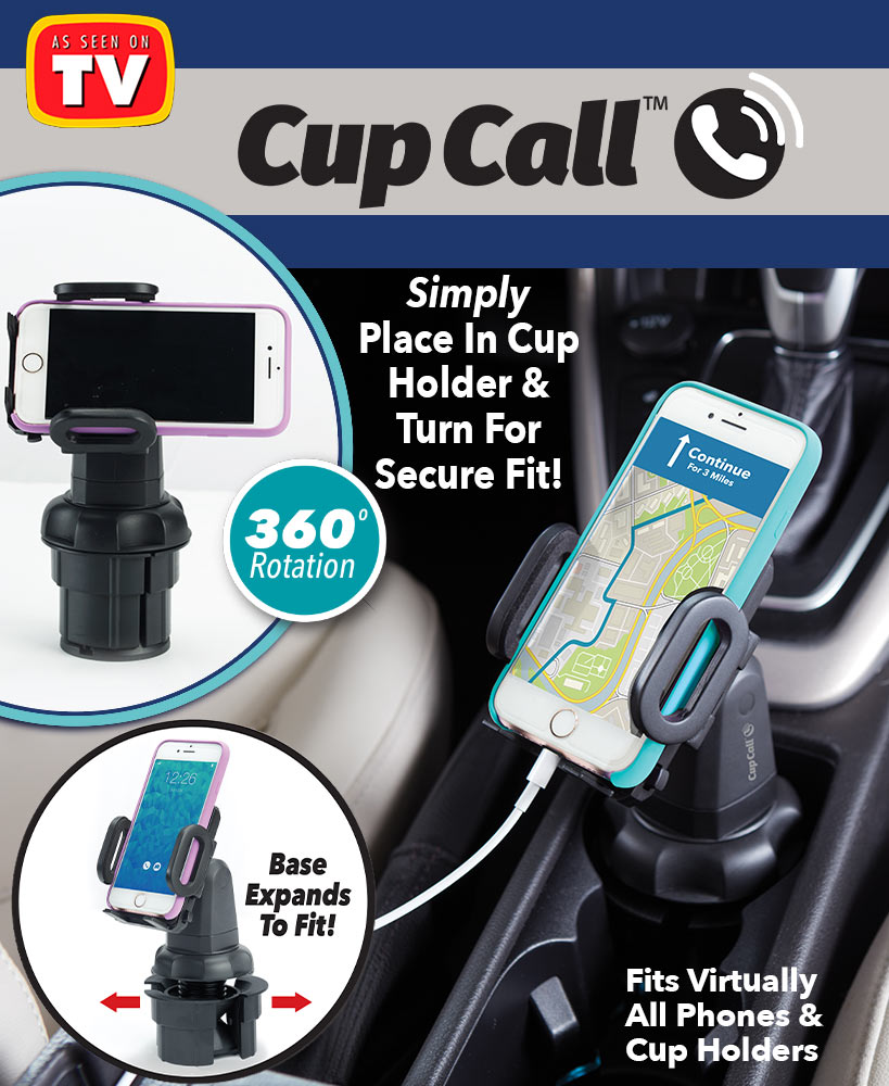 Cup Call™ Cup Holder Phone Mount