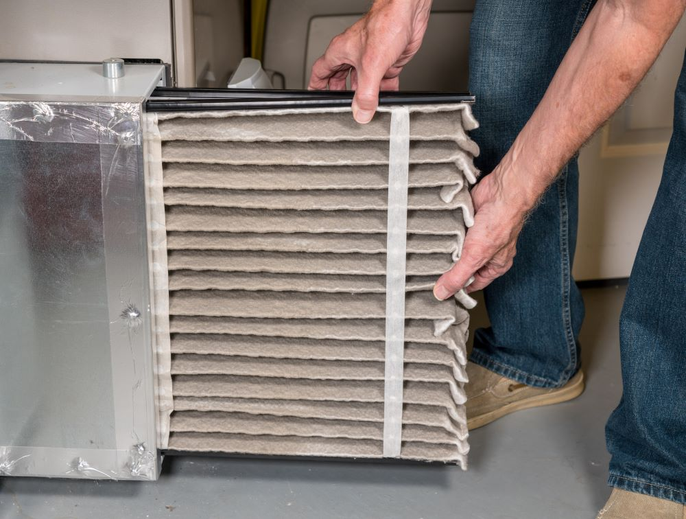 Change Furnace Filter Monthly In Winter