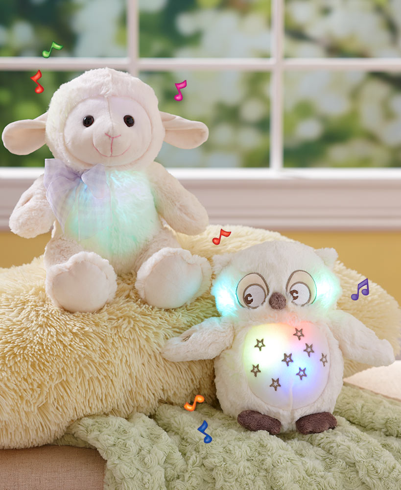 Musical Color-Changing Lullaby Plush