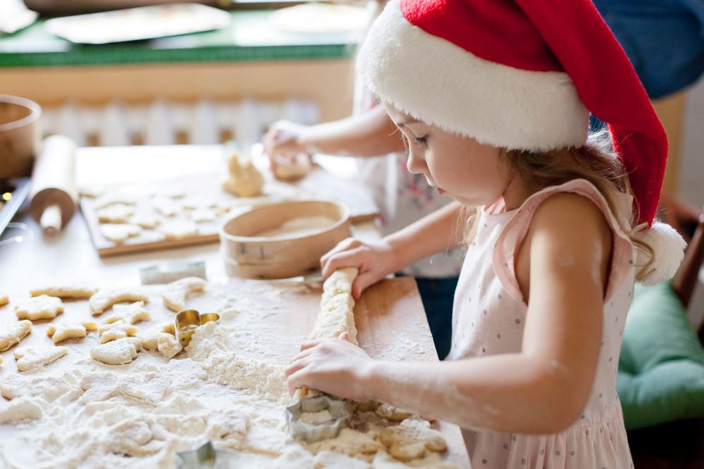 Christmas Activities To Do As A Family - Bake Christmas Cookies