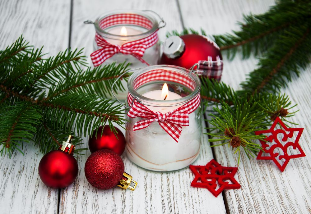 DIY Christmas Gift Ideas - DIY Peppermint Candles