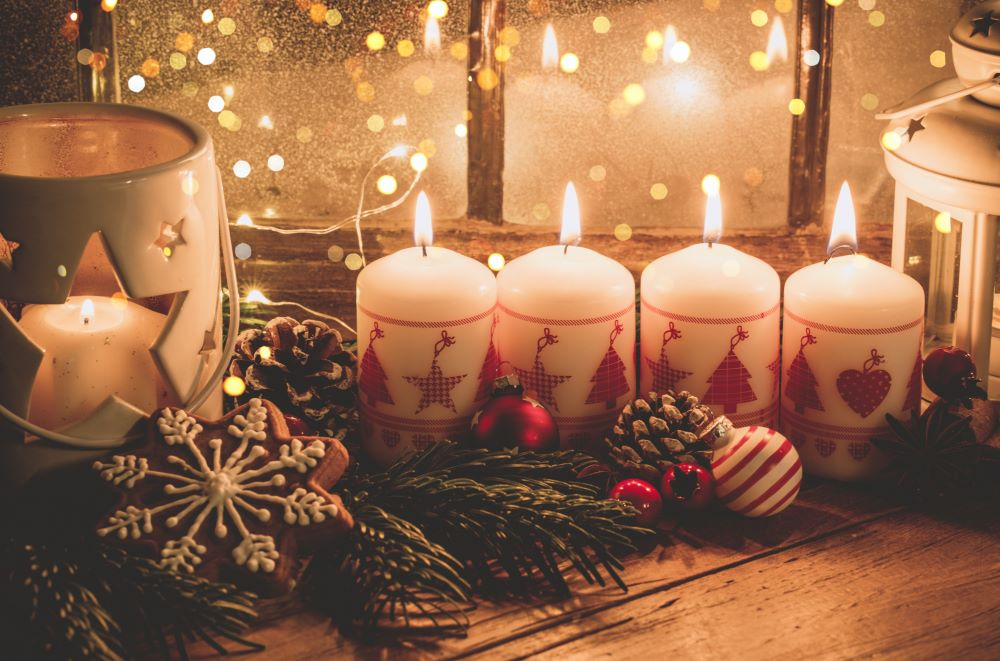 Christmas Hostess Gift Ideas - Candles
