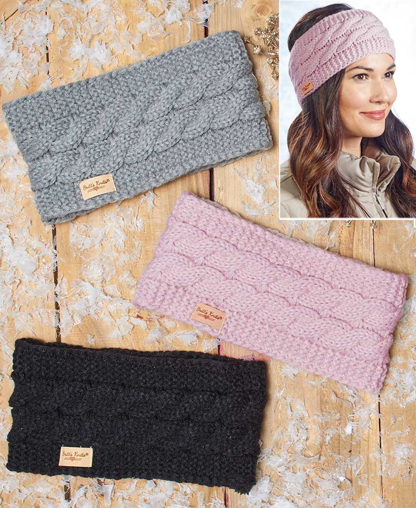 Head Warmers with Plush Lining
