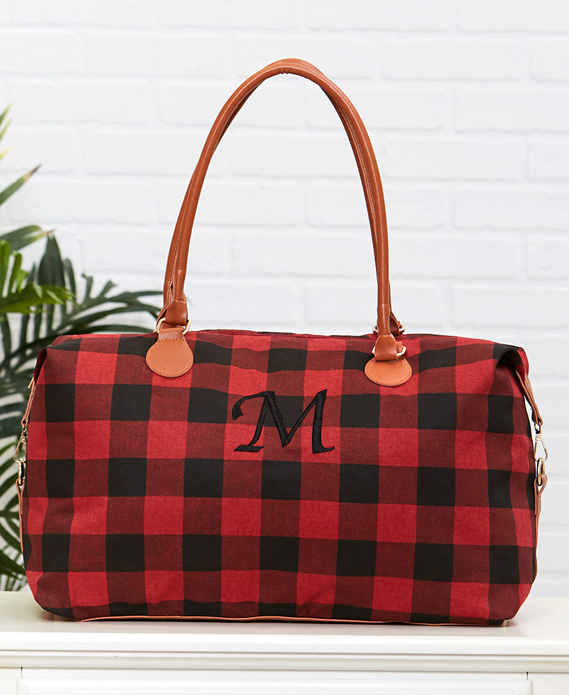 Monogram Plaid Overnight Bags