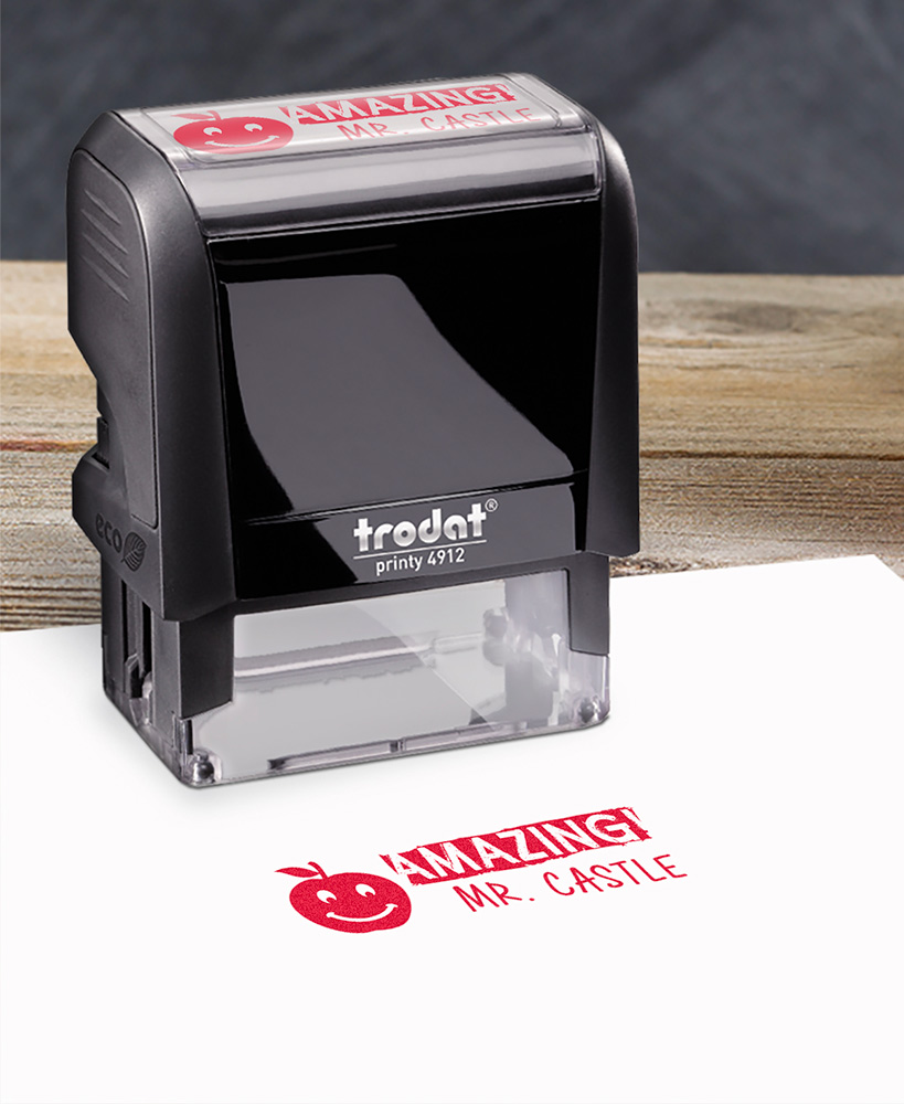 Personalized Teacher Stamps