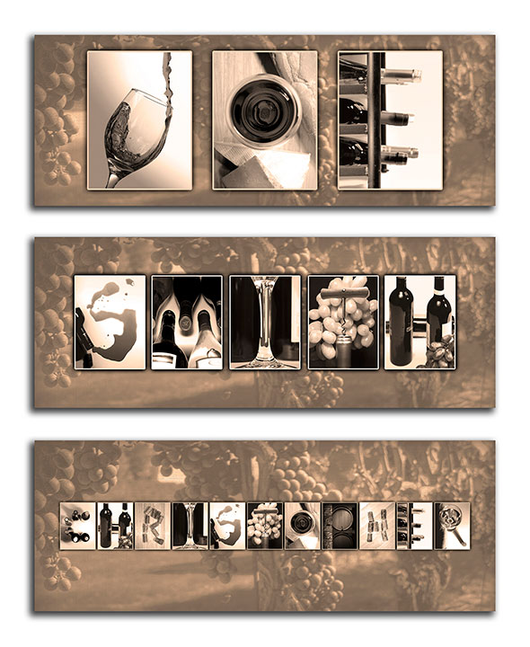 Personalized Thematic Name Art
