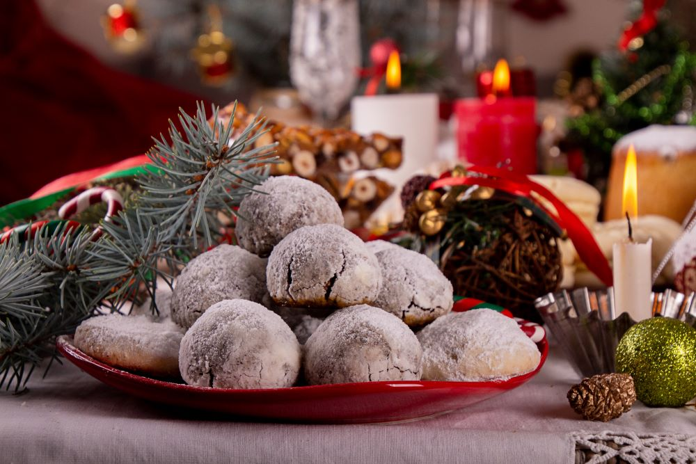 Christmas Cookie Recipes - Christmas Snowball Cookies