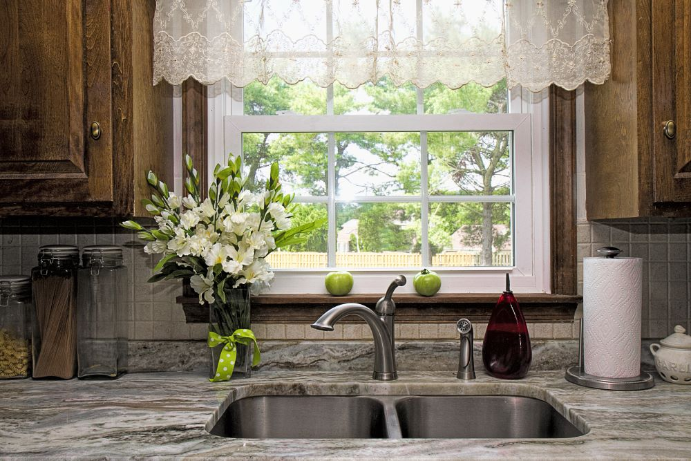 Lace Rustic Window Valance