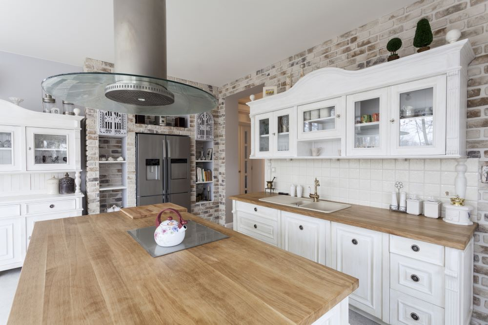 How To Make A Modern Kitchen Look Rustic - Add Elements Of Distressed Wood