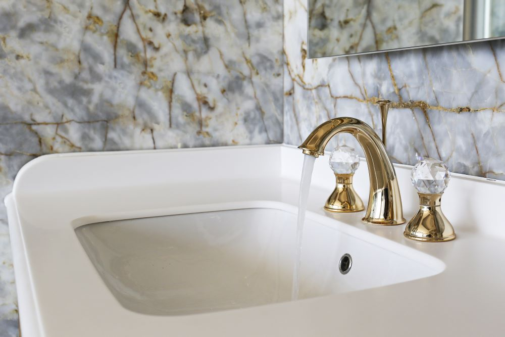 Make Your Bathroom Look Luxurious - Upgrade To Brass Faucets