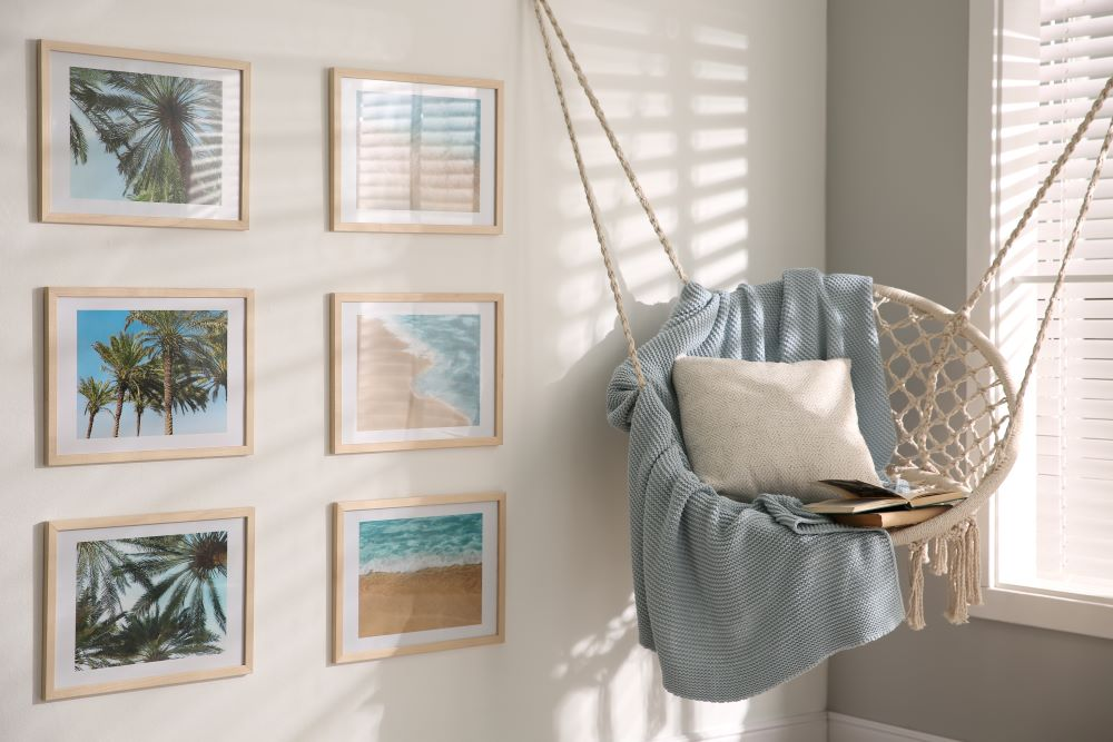 Wall Decor Ideas - Frame Vacation Photos To Hang On Wall