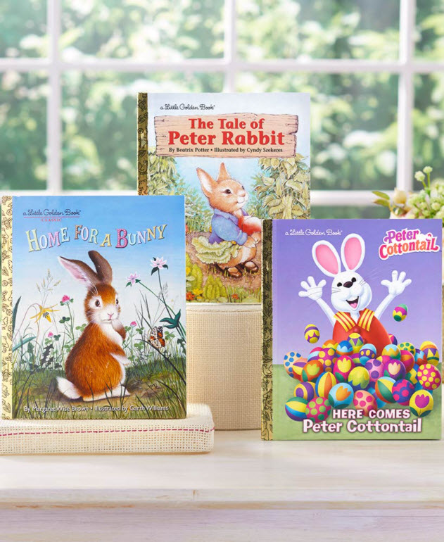 Basket Stuffers Kids - Little Golden Books® Easter Bunny Set