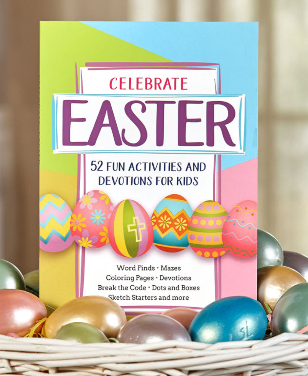 Basket Stuffers Kids - Celebrate Easter Activity Book for Kids