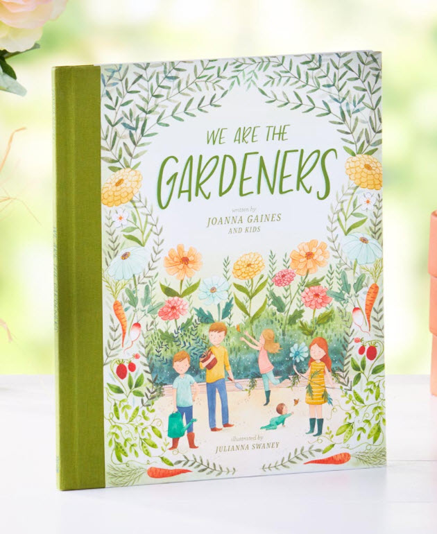 Basket Stuffers Kids - We Are the Gardeners Children's Book