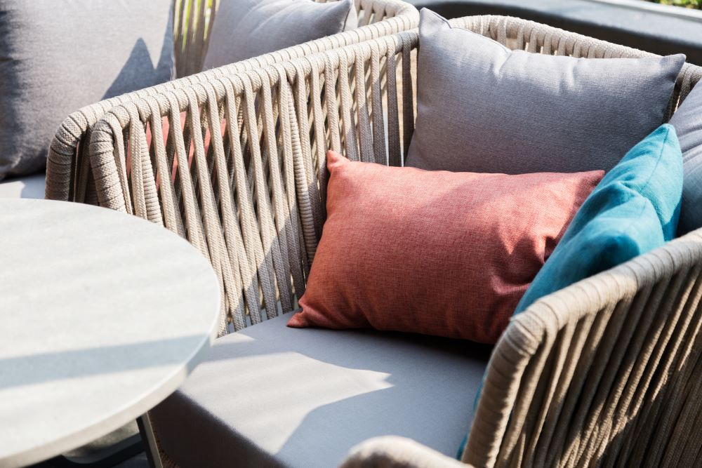 Decorate a Small Balcony - Outdoor Pillows and Cushions
