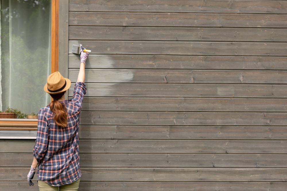 Paint the exterior of your home