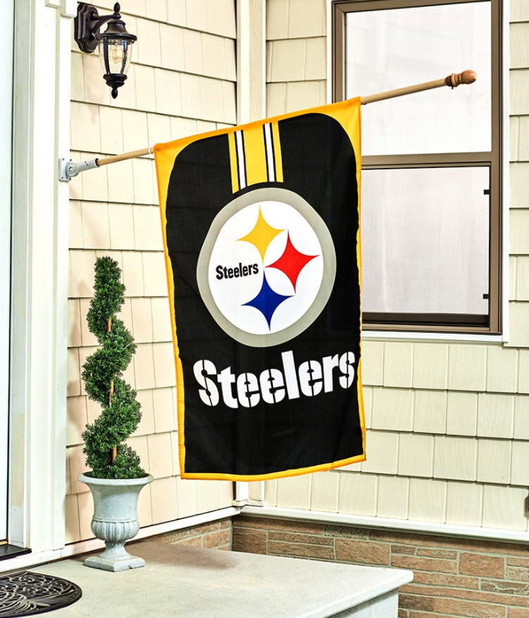 """Father's Day Gift Guide - 32"""" x 47"""" NFL Flags"""