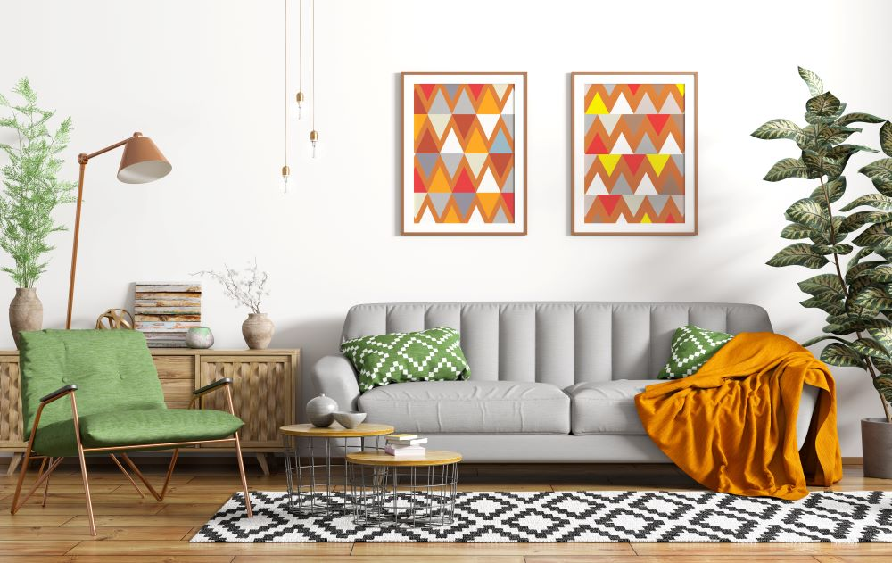 how to mix patterns in a room - what patterns to not mix together