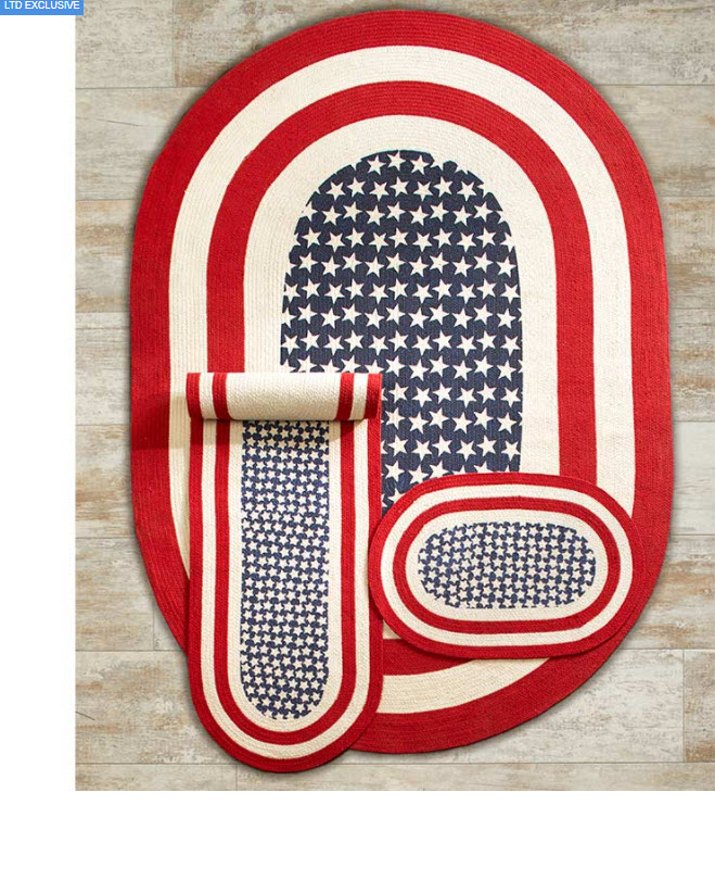 Americana Braided Rug Collection