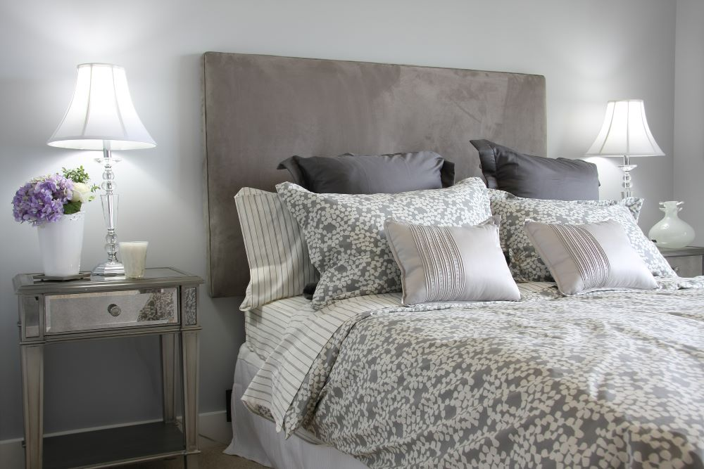 Easy Bedroom Upgrade Ideas For Summer - Switch out bedding and curtains