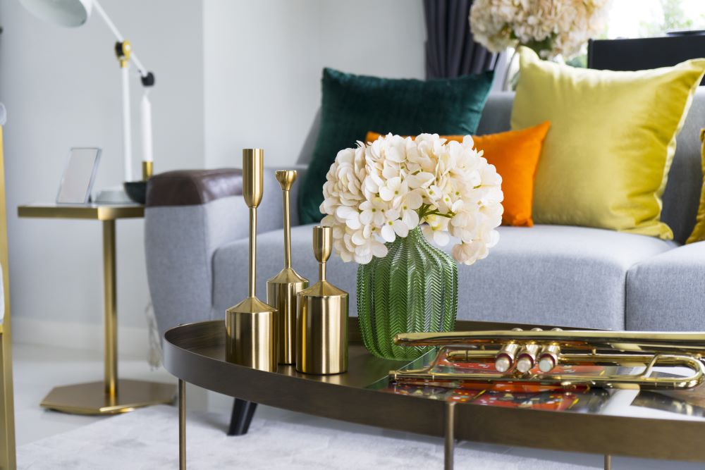 How To Style Faux Flowers In Your Home - use decorative vases