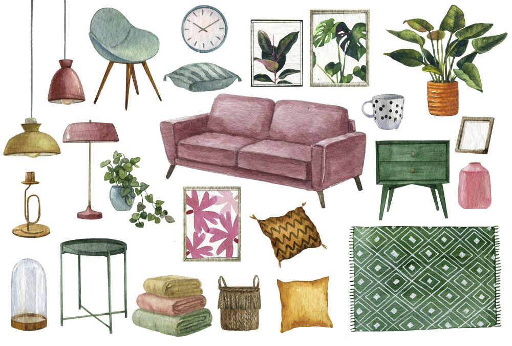 Finding Your Home Decor Style - home decor mood board