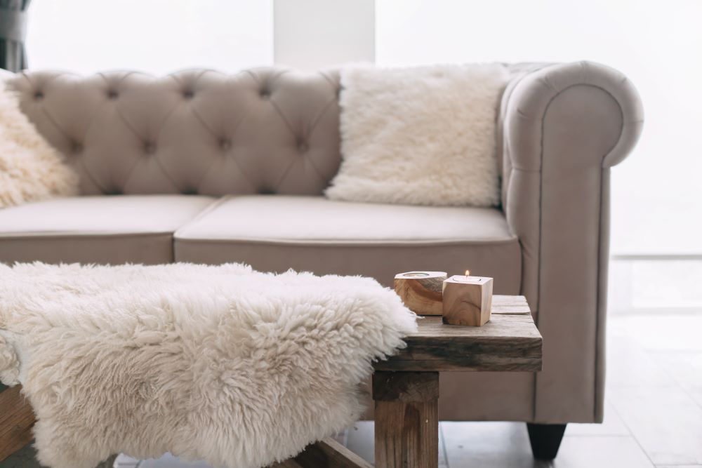 How To Elevate A Room With Rustic Glam Decor - add soft materials and textures