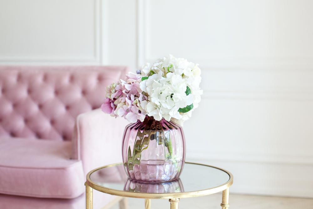 add water to artificial flower vase