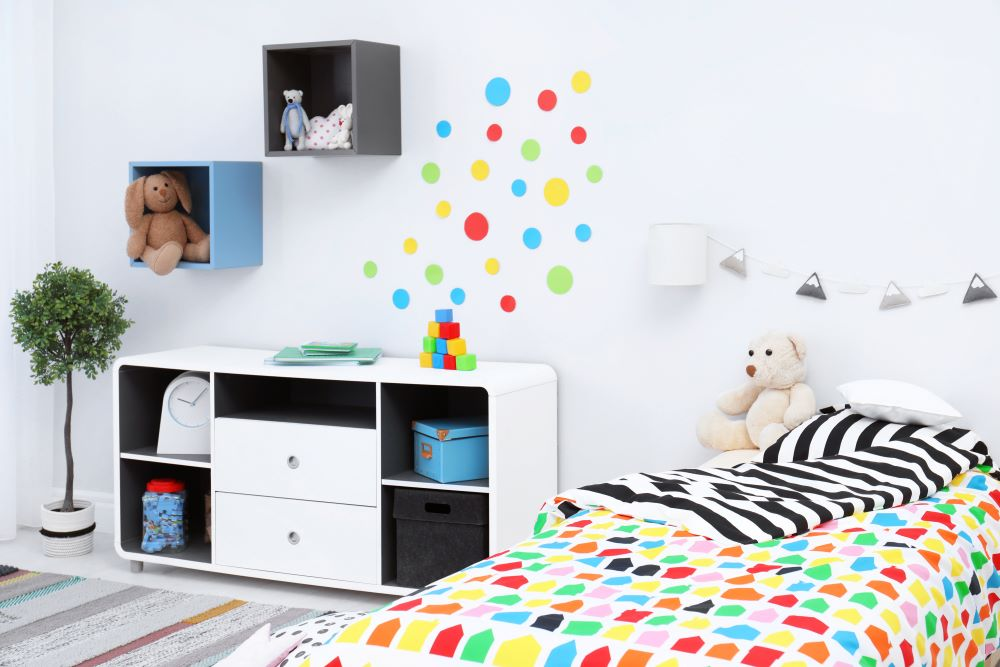 Decorate A Kid's Bedroom On A Budget - Wall Stickers