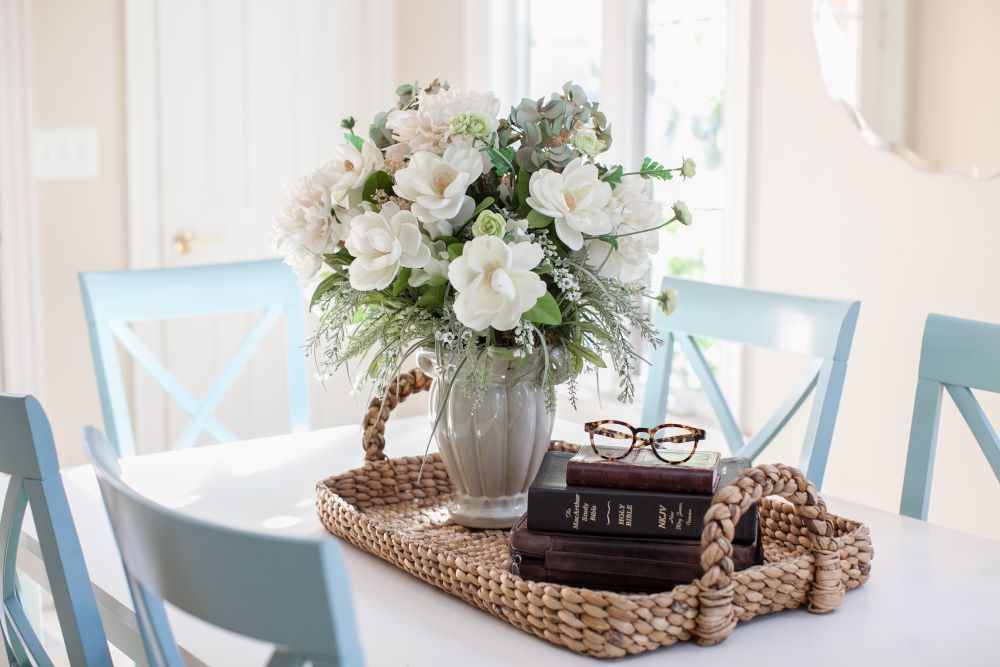 How To Style Faux Flowers In Your Home - realistic faux flowers