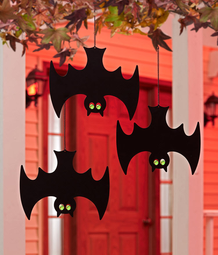 Glow-in-the-Dark Hanging Bats or Ghosts