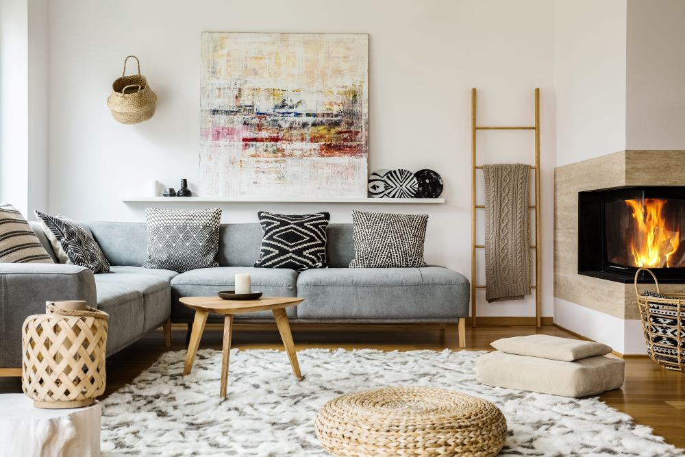 Coffee Table Decorating Ideas - small coffee table