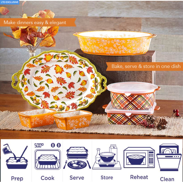 temp-tations® Harvest Plaid Baking Collection