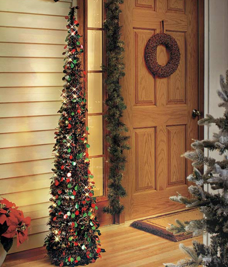"""65"""" Lighted Holiday Trees"""