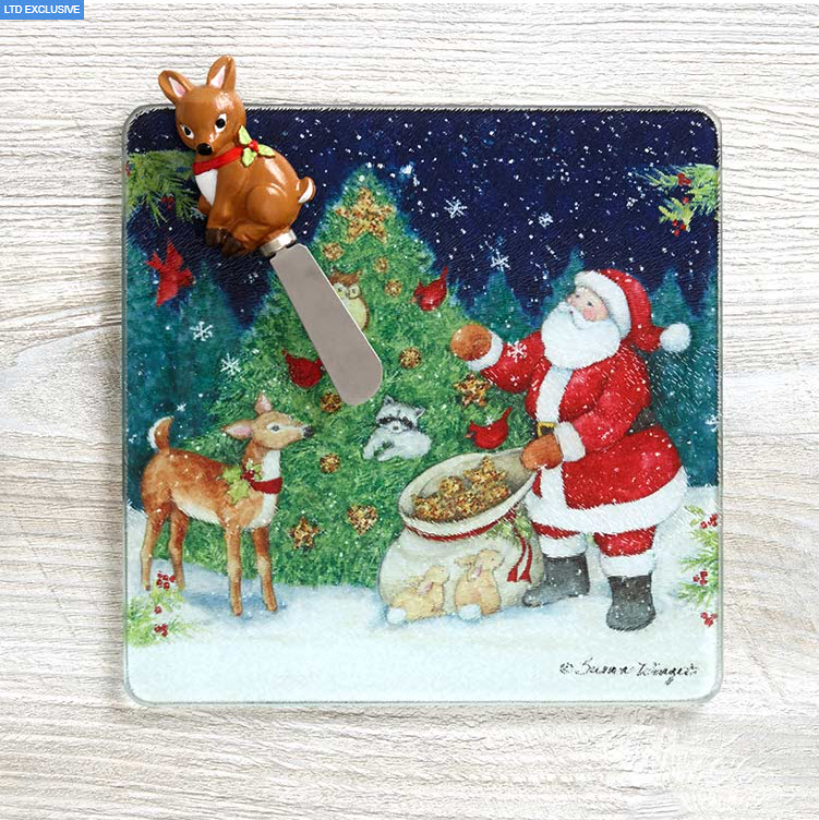 Holiday Cutting Board and Spreader Sets