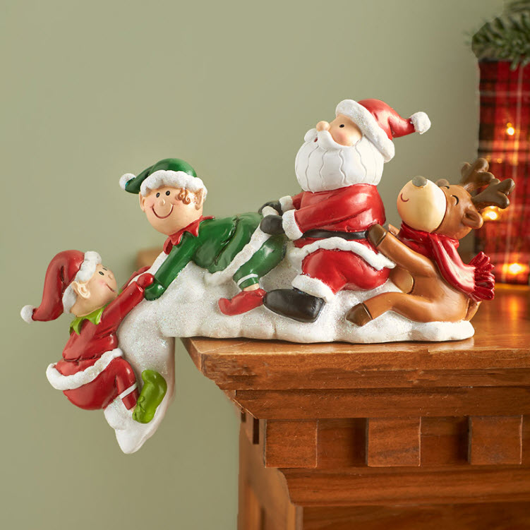 Helping Hand Holiday Shelf Sitters