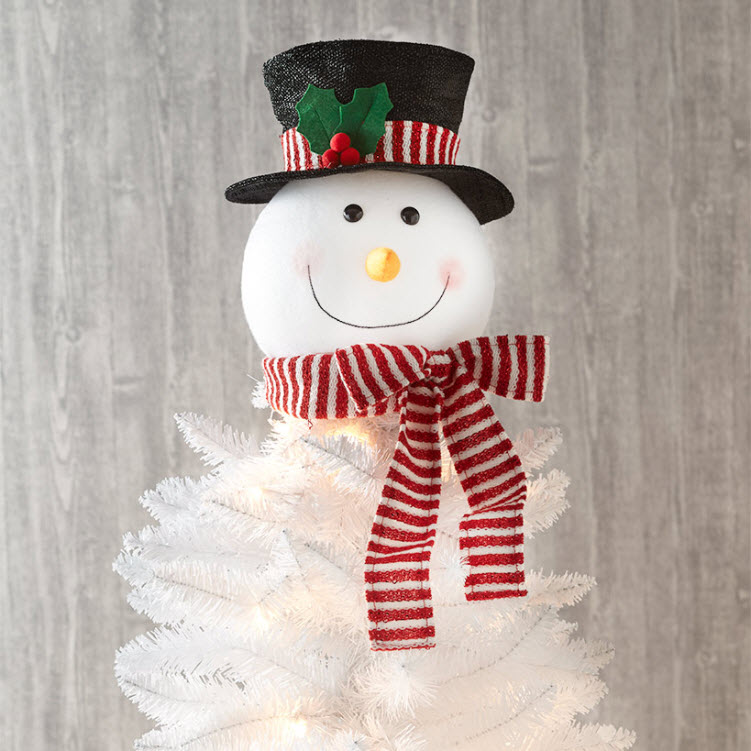 Decorative Tree Toppers - snowman